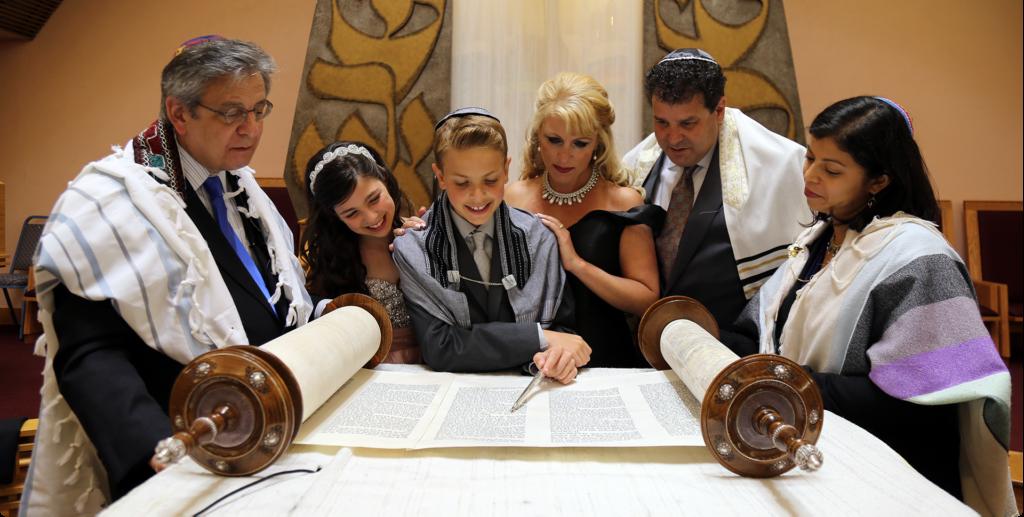Family Reading Torah